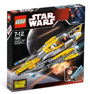 LEGO Star Wars - Anakin Jedi Starfighter 7669