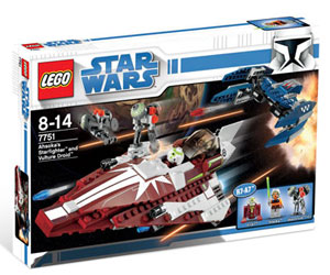 LEGO Star Wars - Ahsoka Starfighter and Droids 7751