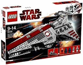 LEGO Star Wars - Clone Wars Venator Class Republic Attack Cruiser 8039