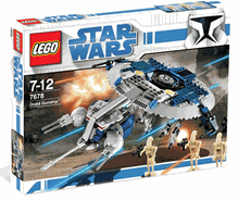 LEGO Star Wars - Clone Wars Droid Gunship 7678