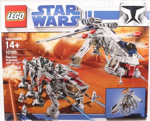 LEGO Star Wars - Clone Wars Republic Dropship with AT-OT 10195