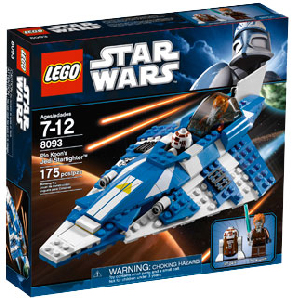 LEGO Star Wars - Plo Koon Starfighter 8093