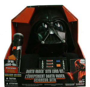 Darth Vader Voice Changer and Saber