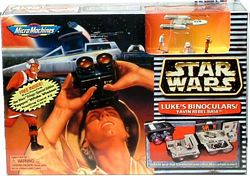 MicroMachines Luke Binoculars Yavin Rebel Base