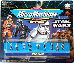 Star Wars MicroMachine Rebel Pilots