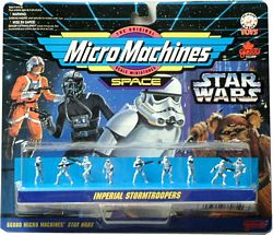 Star Wars MicroMachine Imperial Stormtroopers