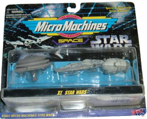 MicroMachines - XI - Bespin Cloud City, Mon Calamari Rebel Cruiser, Escape Pod