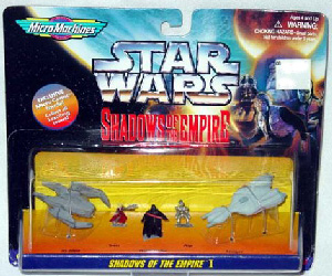 MicroMachines - Shadows Of The Empire - I [IG-2000, Guri, Darth Vader, Asp, Stinger]