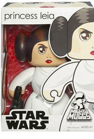 Mighty Muggs - Princess Leia - Non-Mint Pkg