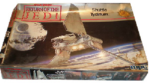 ROTJ Shuttle Tyridium Large Model Kit