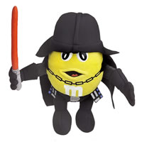 Yellow M&M Darth Vader