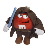 Red M&M Obi-Wan