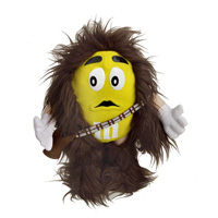 Yellow M&M Chewbacca