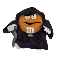 Orange M&M Empreror Palpatine