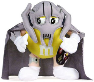 Yellow M&M General Grievous