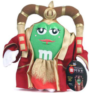 Green M&M Queen Amidala