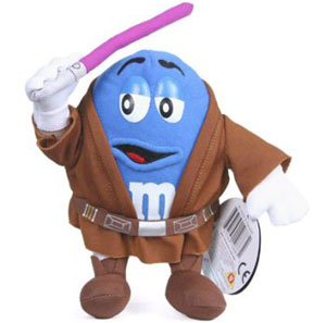 Blue M&M Mace Windu