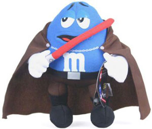 Blue M&M Count Dooku