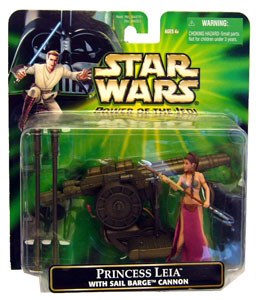 POTJ Princess Leia with Sail Barge Cannon
