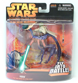 Yoda Fly Into Battle