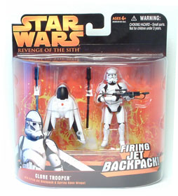 Clone Trooper Firing Jet Backpack