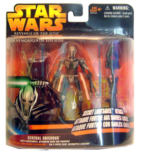Secret Lightsaber Attack - General Grievous