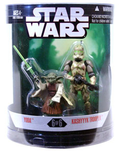 Order 66 - Yoda and Kashyyyk Trooper
