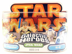 Galactic Heroes - Luke Skywalker and R2-D2 GOLD