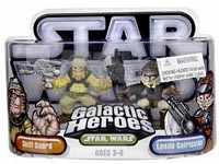 Galactic Heroes - Skiff Guard and Lando Calrissian SILVER