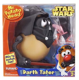 DARTH TATER MR POTATO HEAD