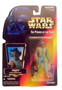 POTF - Red: Greedo