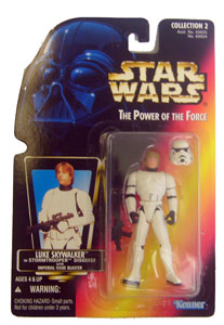 POTF - Red: Luke Skywalker as StormTrooper