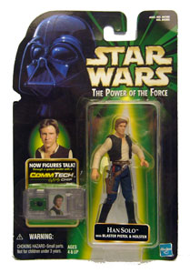POTF - Green: Han Solo with Blaster Rifle and Holster