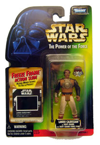 POTF - Green: Freeze Frame Lando Calrissian as Skiff Guard