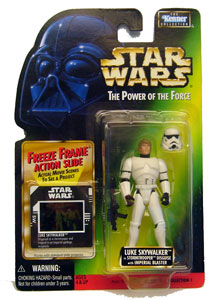 POTF - Green: Freeze Frame Luke Skywalker as Stormtrooper
