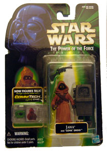 POTF - Green: Jawa with Gonk Droid