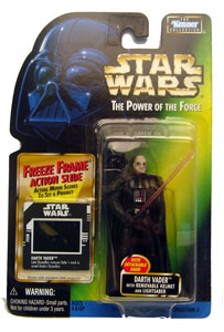 POTF - Green: Freeze Frame Redemption Darth Vader