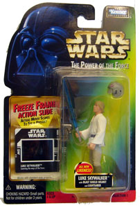 POTF - Green: Freeze Frame Luky Skywalker with Blaster Helmet