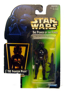 POTF - Green: TIE Fighter Pilot - No UPC Hologram