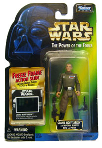 POTF - Green: Freeze Frame Grand Moff Tarkin