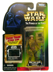 POTF - Green: Freeze Frame Endor Soldier