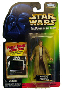 POTF - Green: Freeze Frame Han Solo in Endore Gear
