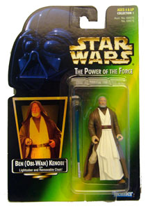 POTF - Green: Ben (Obi-Wan) Kenobi with Hologram