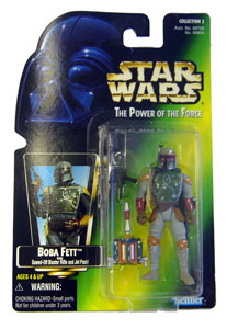 POTF - Green: Boba Fett with Jet Pack
