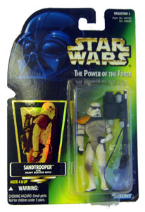 POTF - Green: Sandtrooper with Holograph