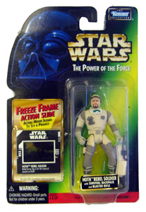 POTF - Green: Freeze Frame Hoth Rebel Soldier