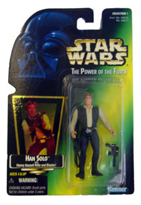 POTF - Green: Han Solo with Holograph