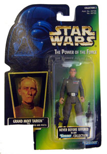 POTF - Green: Grand Moff Tarkin missing UPC