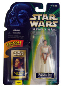 POTF - Green: Flashback Princess Leia in Ceremonial Dress