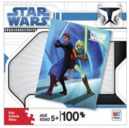 Clone Wars Puzzle - 100 pcs - Anakin and Ashoka